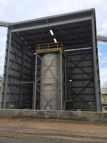 Storage Tank Area and Containment